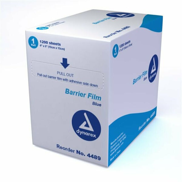 "Barrier Film, 4""x6"", perforated - 1200/BX"