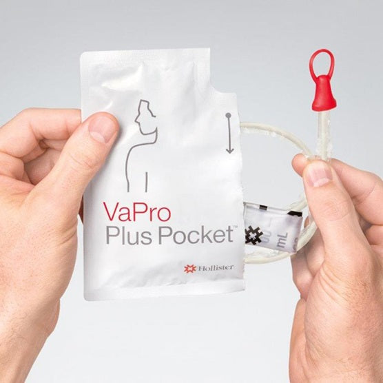 VaPro Plus Pocket No Touch Hydrophilic Intermittent Catheter