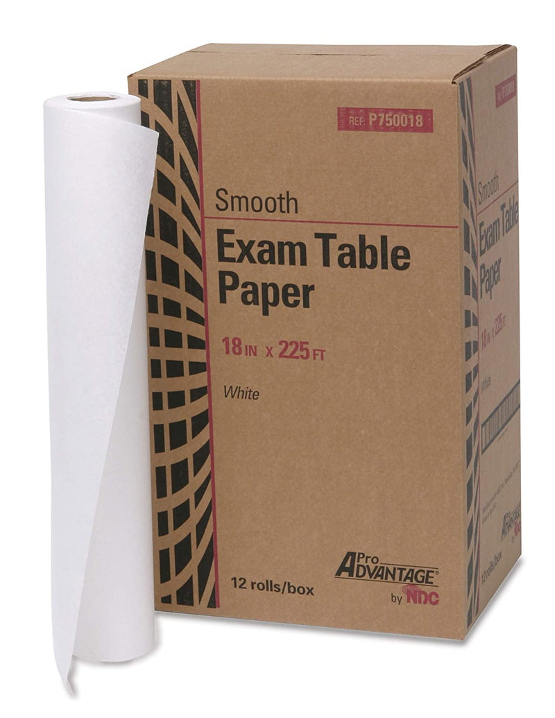 Exam Table Paper/Cover