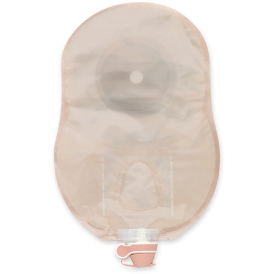 Premier: One-Piece Urostomy Pouch, Extended Wear Enhanced Design Flat Skin Barrier, Tape Border, Pre-Sized,10/bx