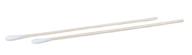 Cotton-Tipped Applicator, Wooden Shaft, Non Sterile, 100/pkg, 10pkg/bx