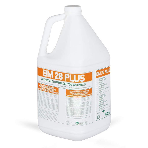 LOW STOCK - Glutaraldehyde Plus Clear ACT 2%, for surgical instruments - 4 Litre