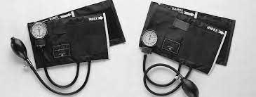 Precision Aneroid Sphygmomanometers, Manual Blood Pressure Cuff For Thigh - Blue