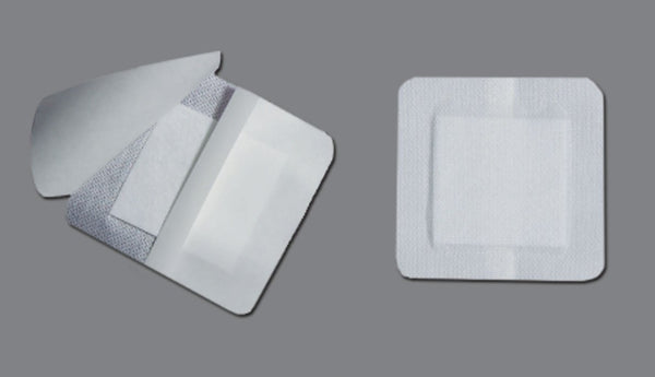 Bordered Island Gauze Dressings (4332490621041)