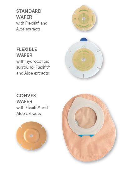 Harmony® Duo with FlexFit® and Aloe: Convex Skin Barrier, Standard Wear, 5/bx (4580076388465)