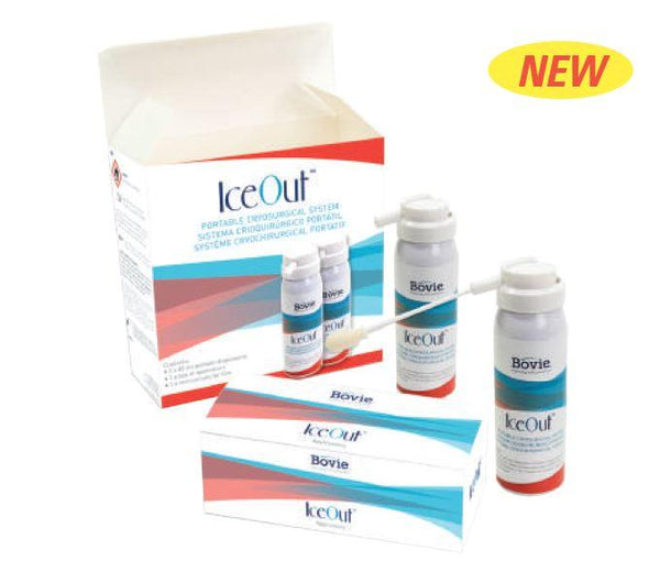 Bovie IceOut Portable Cryosurgical System with dispensers & applicators
