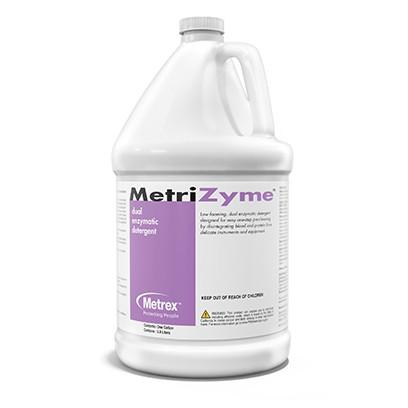 LOW STOCK - MetriZyme Highly concentrated dual enzymatic detergent - 1 Gallon, 4/box (4447586025585)