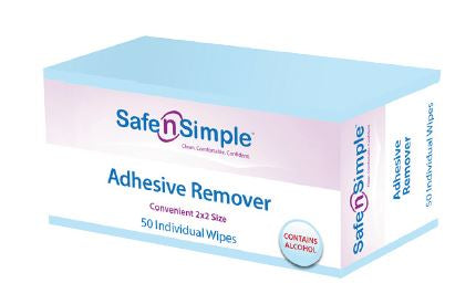 "Adhesive Remover, 2"" x 2"", 50/bx"