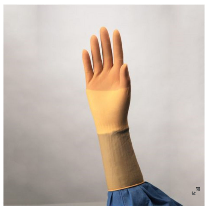 Size 5.5 - 8 - Protexis™ Latex Surgical Gloves, Sterile, PF, Brown Tint, 50 pr/bx (4447576031345)
