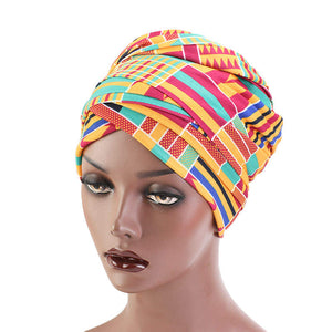 African Head Wrap Tube Turban Dreadlocks Loose Natural Short Very Long - Easy On