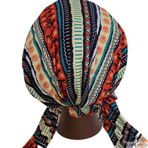 Locsanity Easy on Head Tie Hat Dreadlocks and Natural Hair Various Colors