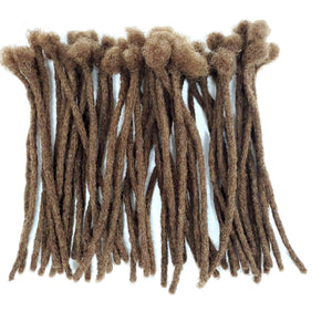 "Colorful Locs 100% Human Hair Dreadlocks Extensions Handmade Medium 1/4"" Width Pencil Various Colors 10"" Long - Sold 10 Locs to a Bundle - Locsanity"