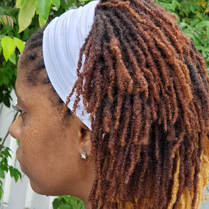 Locsanity Spandex Dreadlocks Convertible Headband Tube Unisex Various Colors - Locsanity