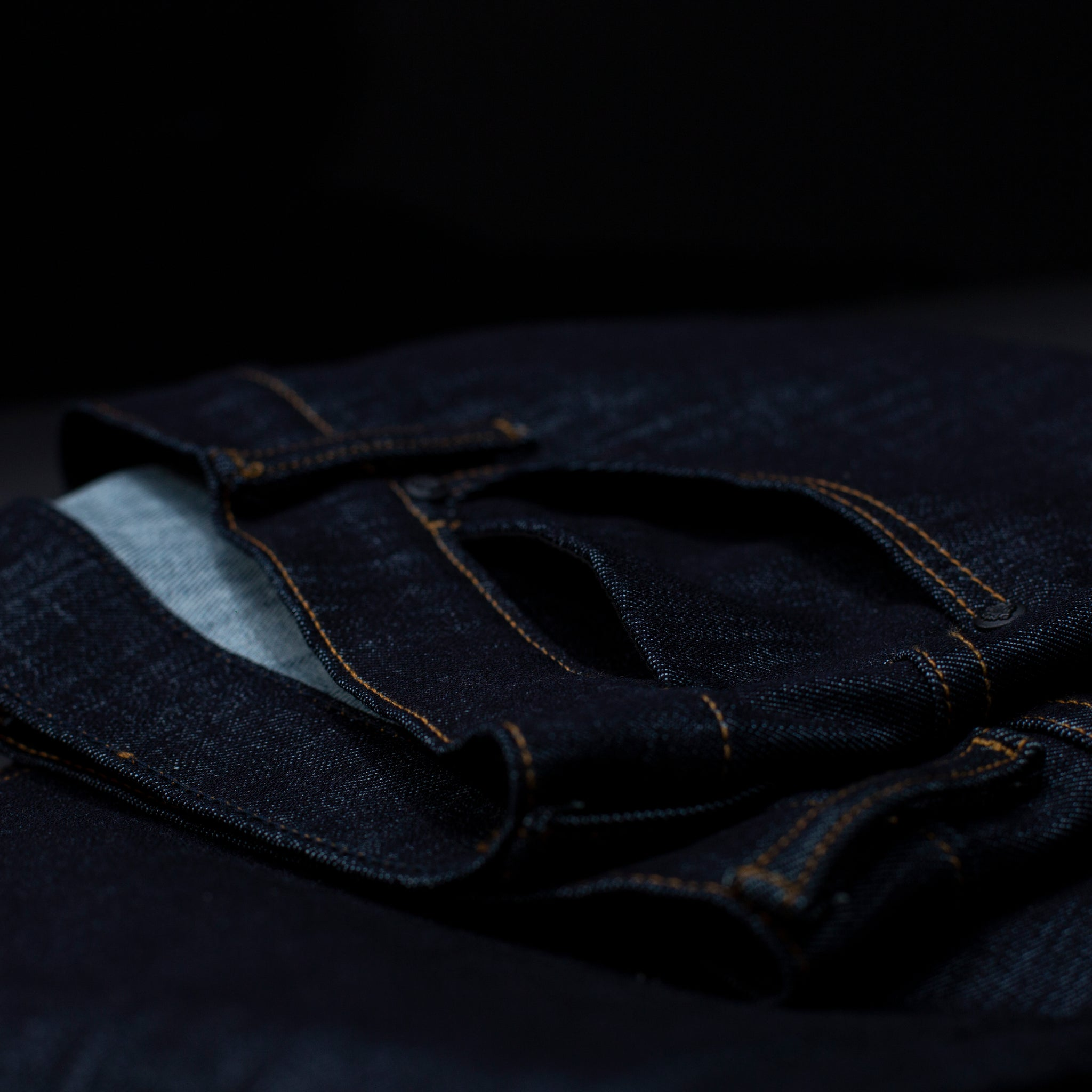 G+R Indigo TechStretch Raw Denim
