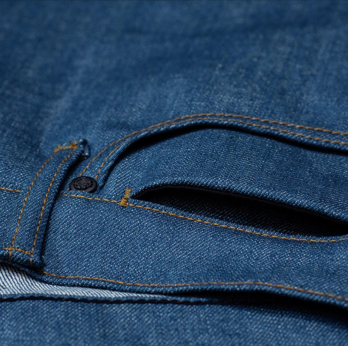 G+R Dolphin Japanese Stretch Selvedge Raw Denim