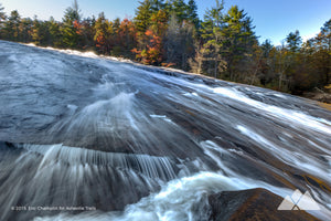 Bridal Veil Falls at DuPont State Forest Stock Photo