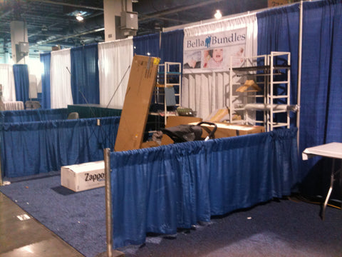 ABC Kids Expo.....The set up days