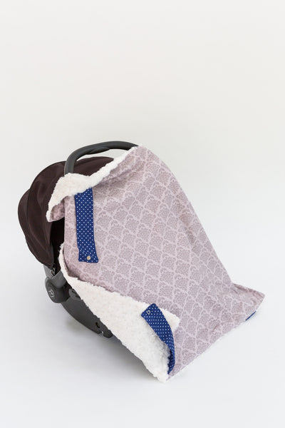 Gray Damask Blanket On The Go™