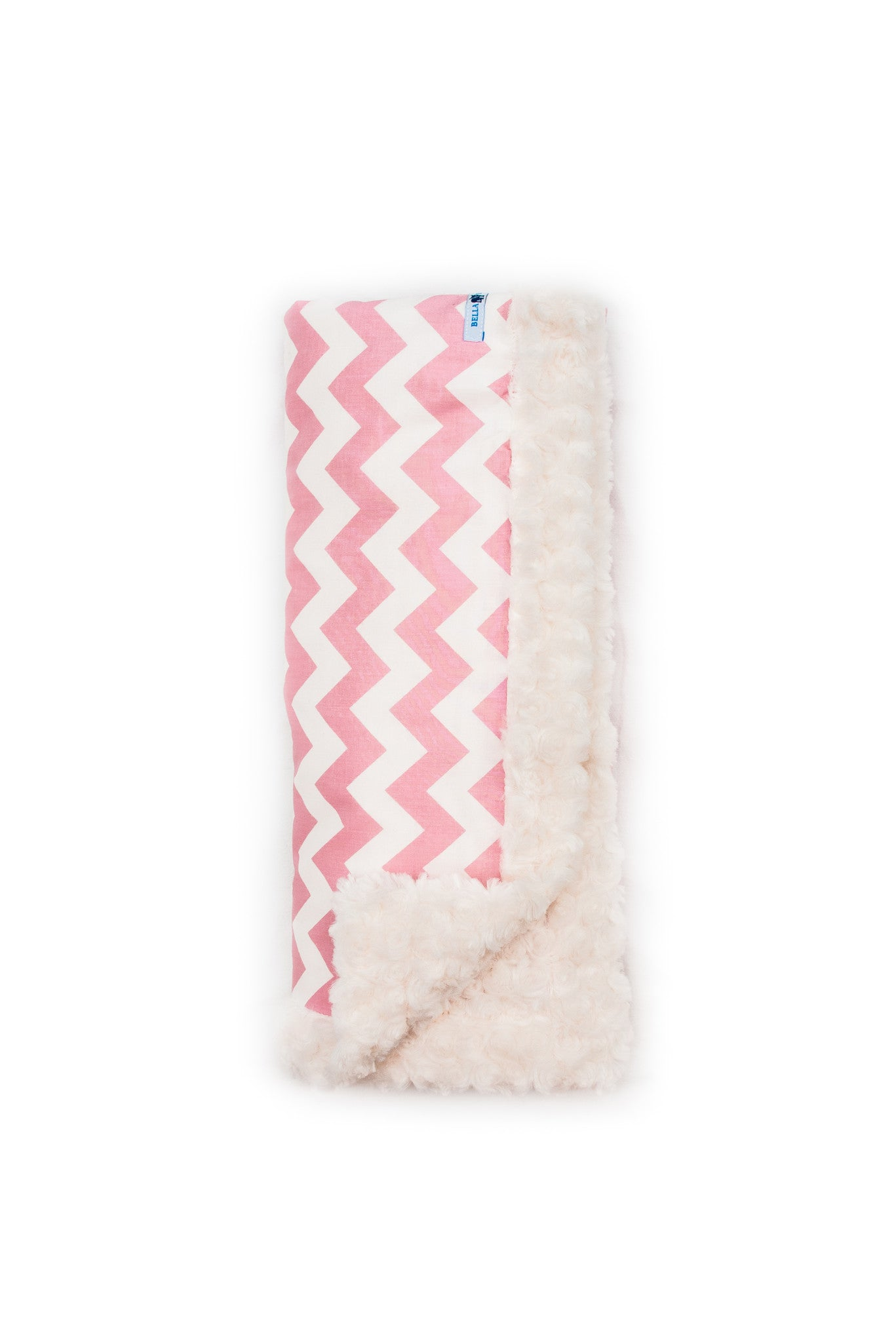 Pink Chevron luxury Blanket