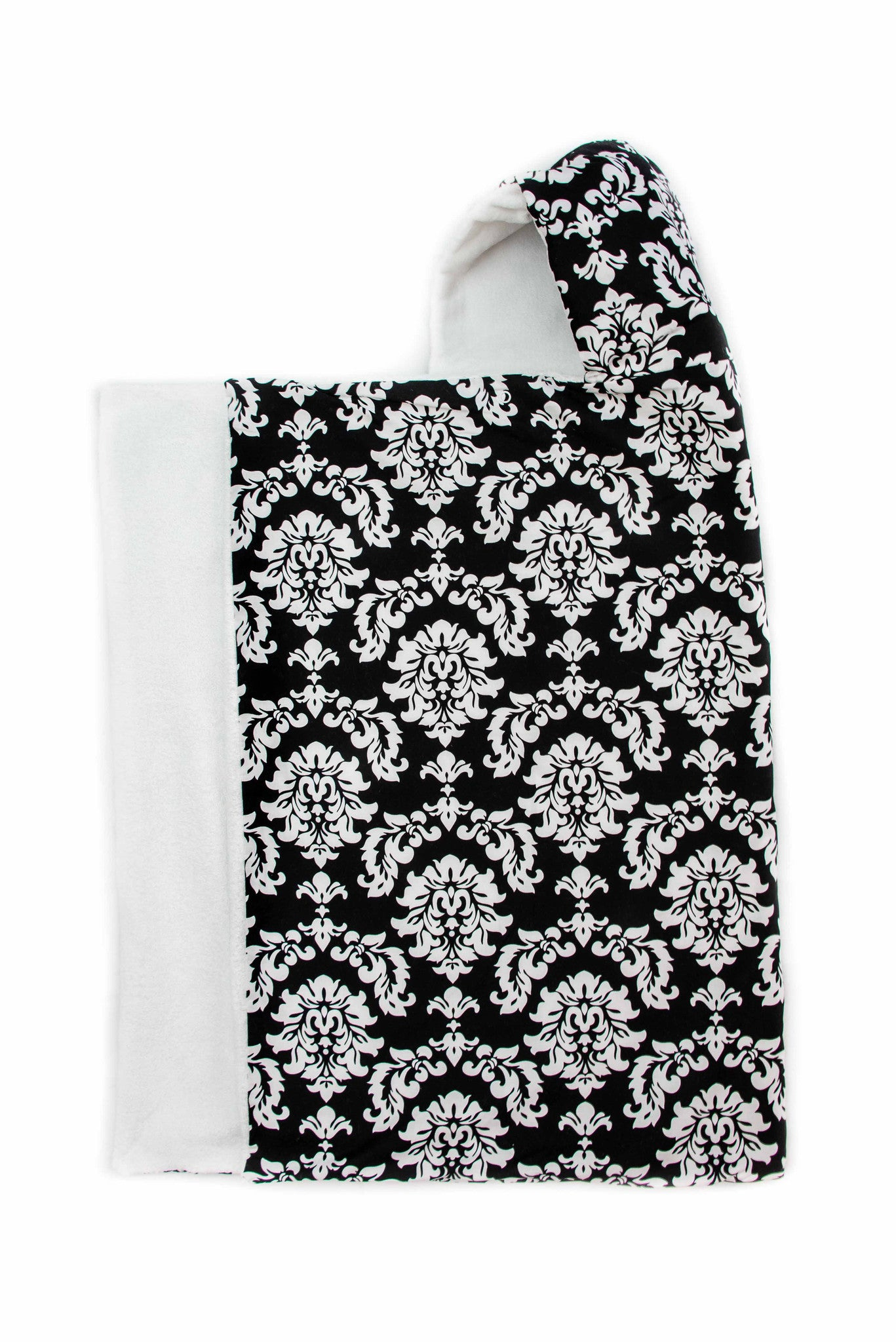 Damask Snap Hooded Towel