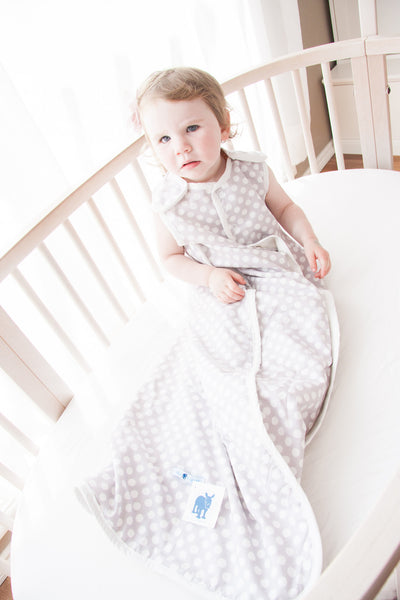 Gray Dot Bella Sleep Sack