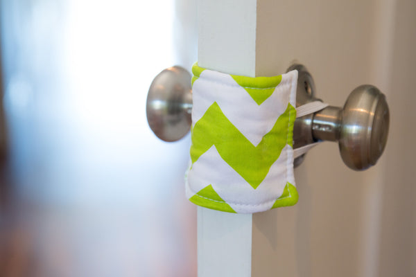 Shushie™ Lime Chevron
