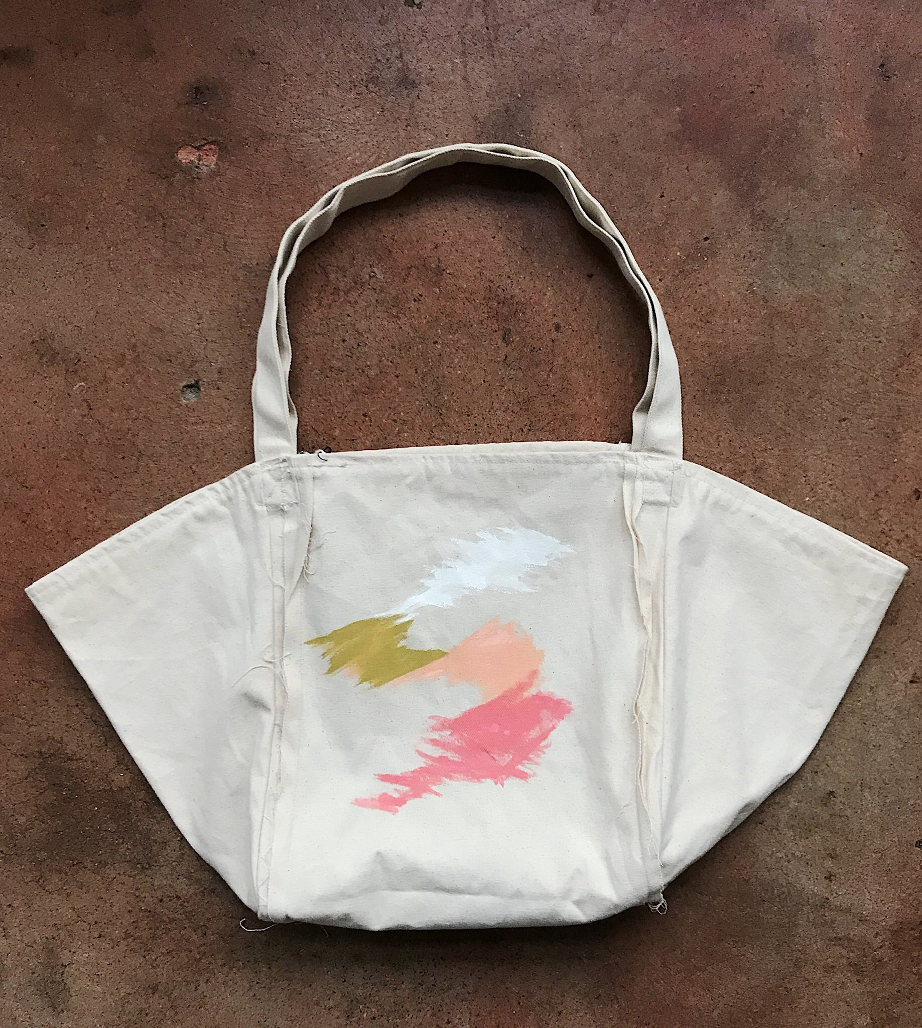 Hand Painted Tote 11/12