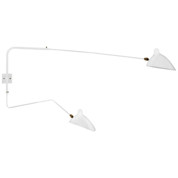 Replica Serge 2-Arm Wall Light