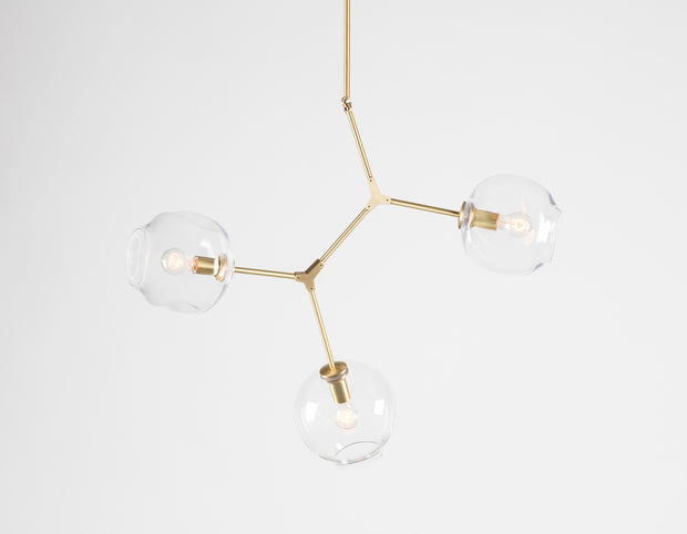 Replica Lindsey Adelman Branching 3-Bubble Pendant