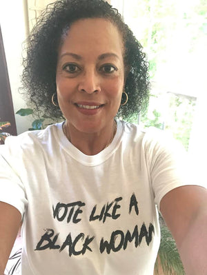 Vote Like A Black Woman T-shirt