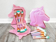 Load image into Gallery viewer, Unicorn Brush Book - 10pc set