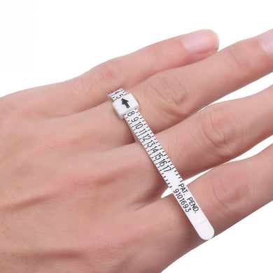 Sizing gauge- Ring - High Quality Ring sizer Finger Measure Gauge Men and Womens Sizes
