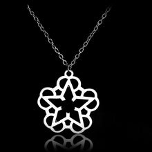 Load image into Gallery viewer, Necklace- Rock Band Black Veil Brides Rock Music BVB Logo Pendant Necklace