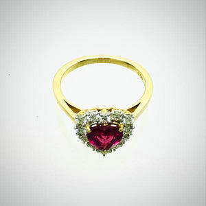 Ring- Ruby Heart Ring