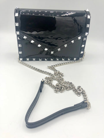 Black Stud Purse