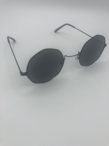 Octagon Frame Sunglasses