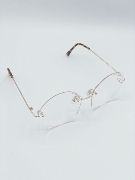 Frameless Clear Glasses