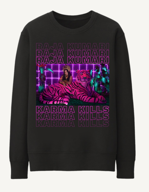 KARMA KILLS - LONG SLEEVE T-SHIRT