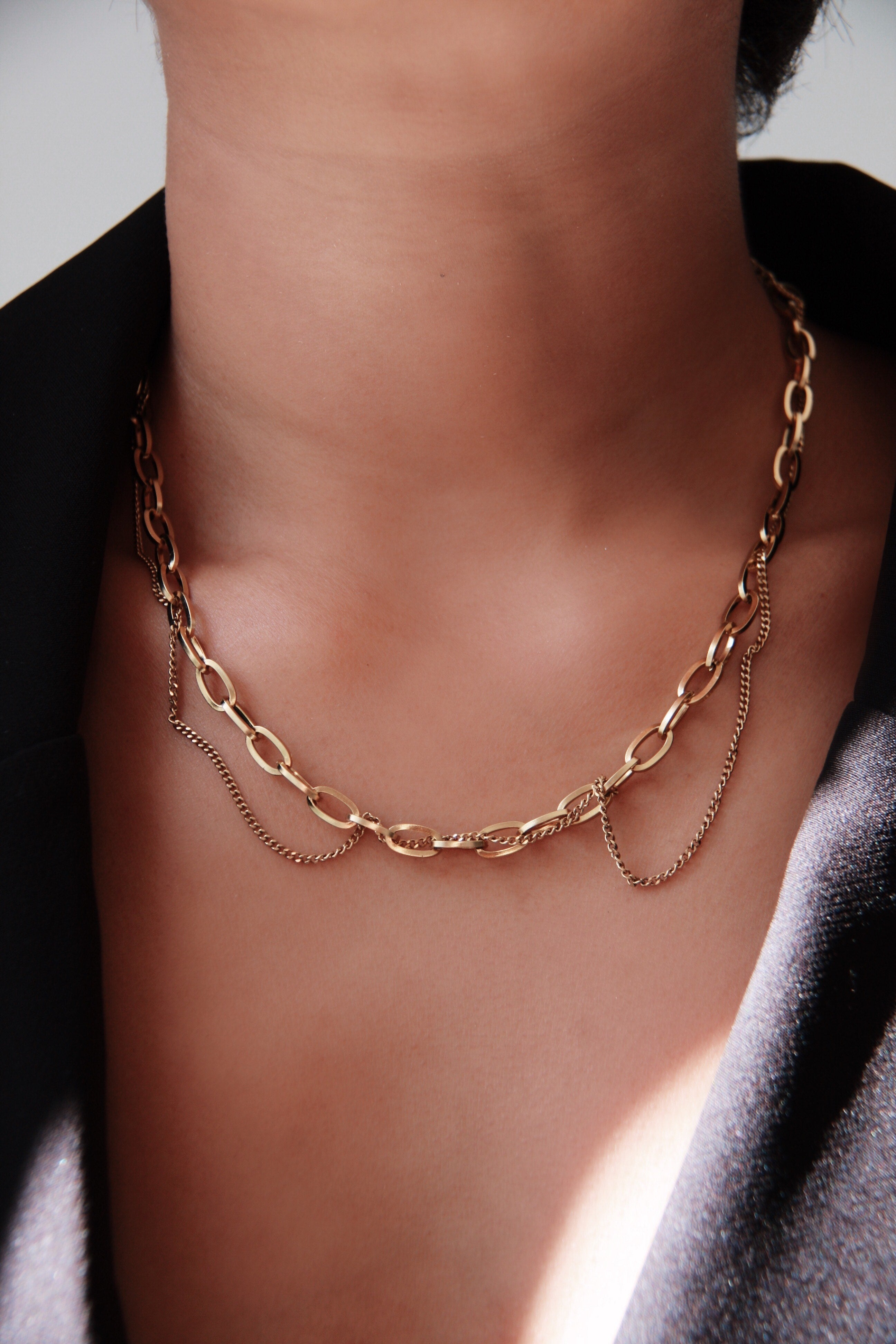 COMPLEXITY CHOKER NECKLACE