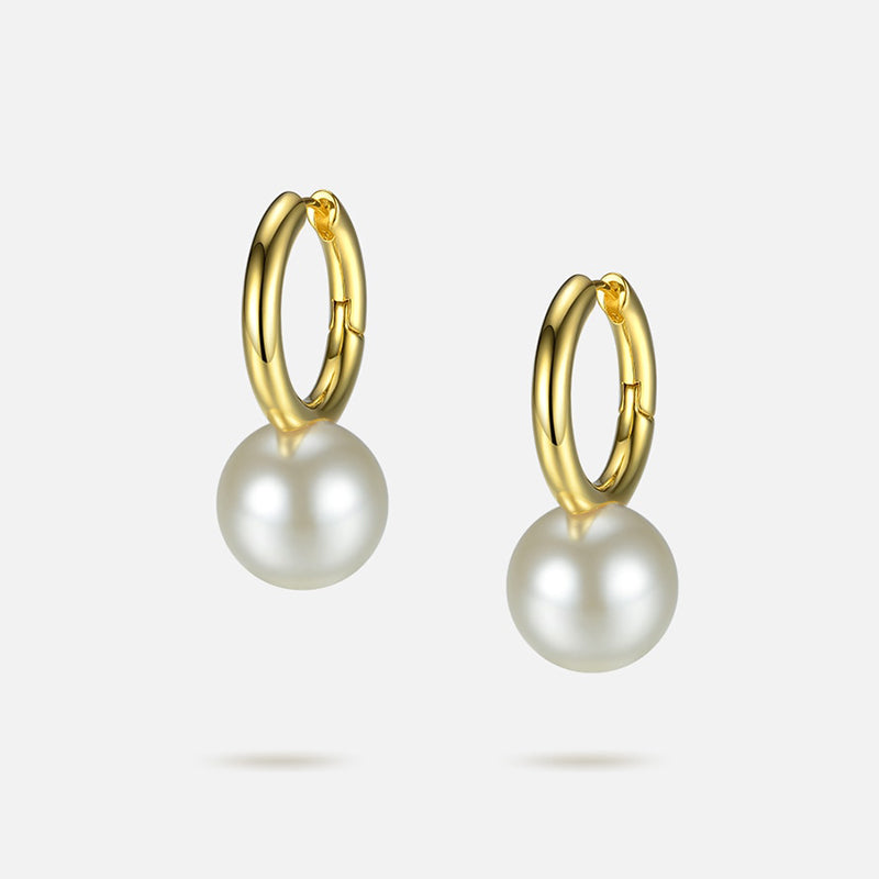 JACKY O PEARL DROP EARRINGS