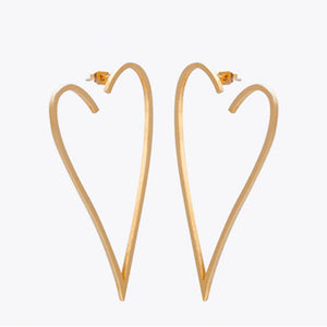 Open image in slideshow, I HEART U EARRINGS