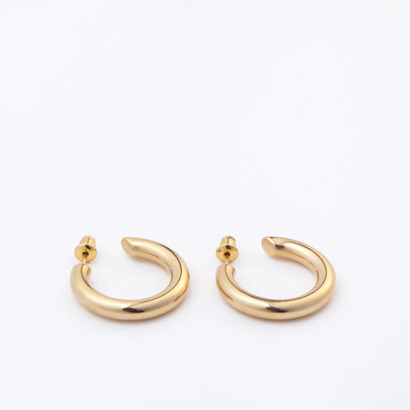 MINI RALLY HOOP EARRINGS