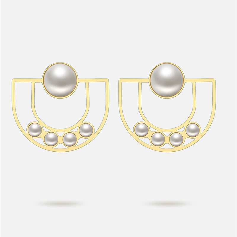 GOT U PEARL DROP EARRINGS