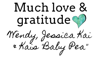 love and gratitude baby pea clothing