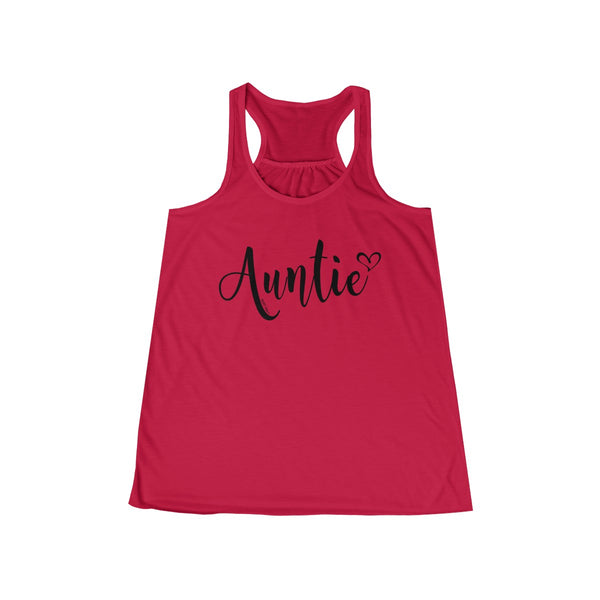 Auntie Tank Top | Women's Flowy Racerback Tank | 14 colors - Baby Pea Clothing Fashion for Babies & Kids of all ages