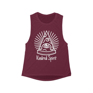 Kindred Spirit | Women's Flowy Scoop Muscle Tank | 6 Colors - Baby Pea Clothing Fashion for Babies & Kids of all ages