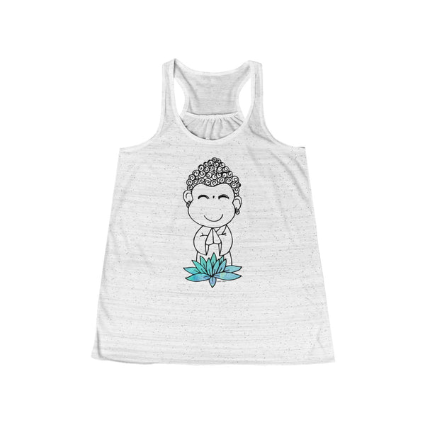 Buddha Baby | Women's Flowy Racerback Tank | 11 Colors - Baby Pea Clothing Fashion for Babies & Kids of all ages