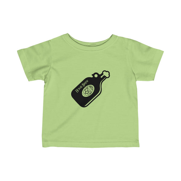 Home Brew | Infant Fine Jersey Tee | 12 Colors - Baby Pea Clothing Fashion for Babies & Kids of all ages