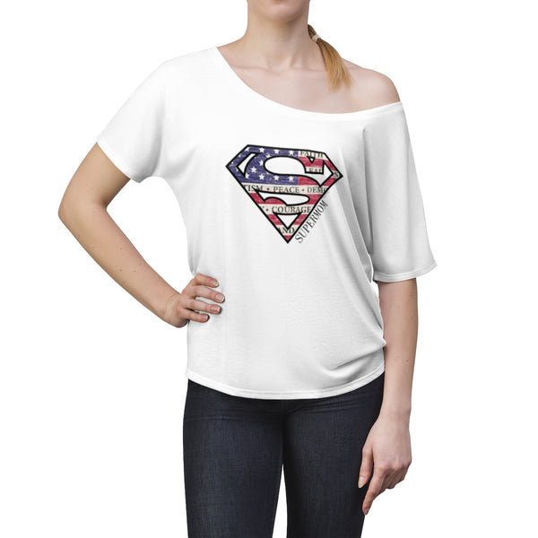 Supermom | Women's Slouchy Top T-Shirt | 9 Colors - Baby Pea Clothing Fashion for Babies & Kids of all ages