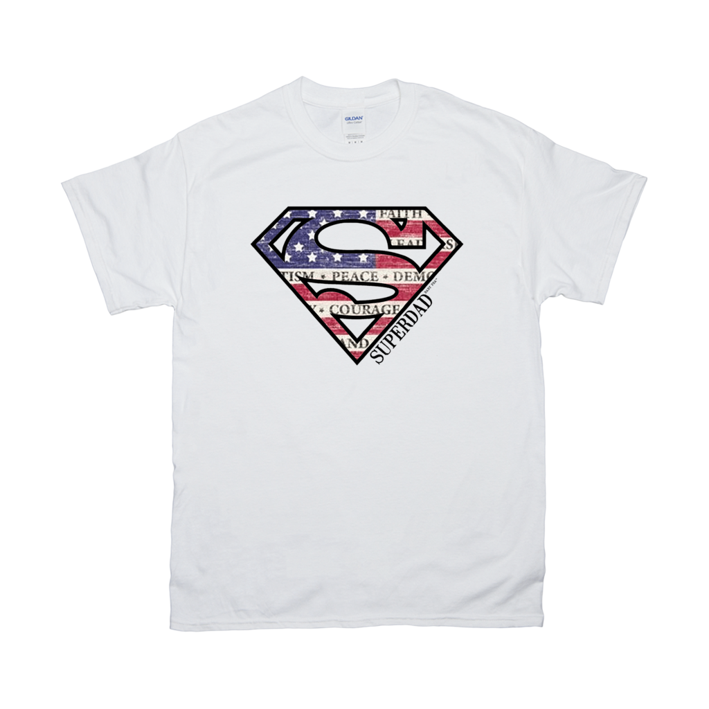 Superdad | Men's Ultra Cotton Adult T-Shirt | 20 Colors | Men's - Baby Pea Clothing Fashion for Babies & Kids of all ages